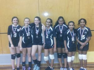 WRV League Silver Medalists